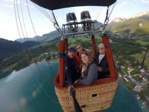 Vol en Montgolfière en Haute Savoie